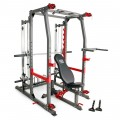 Marcy Pro Smith Machine Home Gym Training System Cage | SM-4903