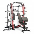 Marcy Smith Machine / Cage System with Pull-Up Bar and Landmine Station | SM-4033
